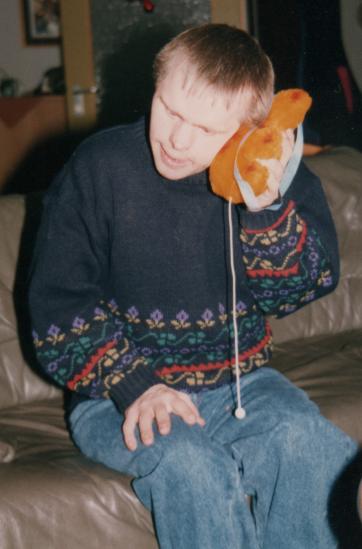 Wolfgang Weihnachten '89